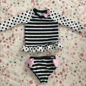 1e77ea74e9 Easter Bunny Dress 9M Kate Spade Two Piece Swimsuit/ Rashguard 80/12m ...